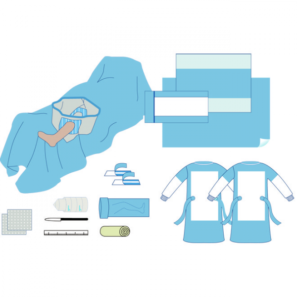 Arthroscopy Pack with Pouch