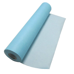 Crepe Exam Table Paper blue