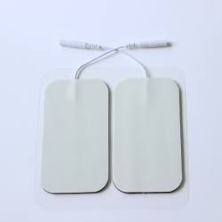 Physiotherapy Tens Electrode Pads Wire,rectangle type