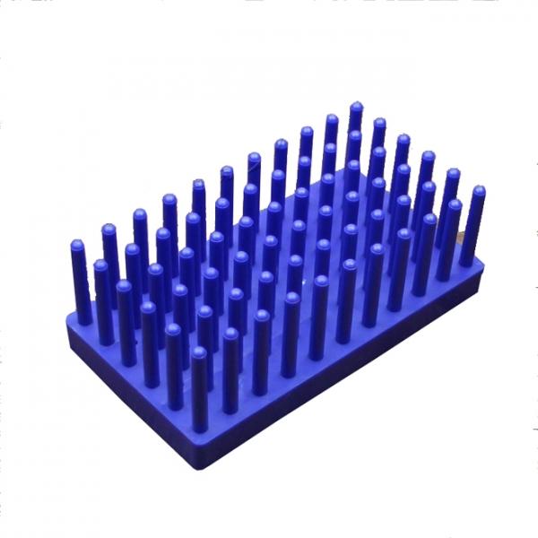 peg tube rack