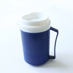 Dining Aid Insulated Mugs with Secure Lid