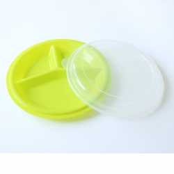 Partitioned Dish with Lid (3)