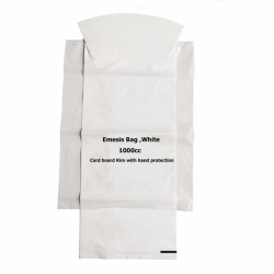 vomit bag with hand protection